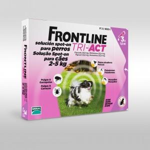 Frontline tri-act 2-5 kilos farmacia veterinaria