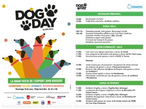 Dog Day 2018 - programa horari